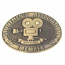 Once Upon a Time in Hollywood Stuntmen's Association Belt Buckle