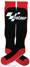 Bottes de Moto MotoGP Chaussettes noires D'hiver (mgpsocwin)