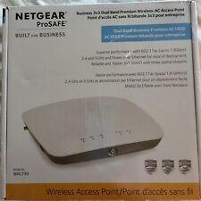 NETGEAR WAC730 ProSAFE 3x3 Dual Band 802.11ac Wireless Access Point AC1800 NEW