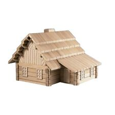 NEW CHILDRENS Large Wooden Building Puzzle 23 in 1 - The Lodge