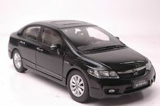 Honda Civic 8th generation car model in scale 1:18 black