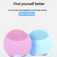 USB Charging Face Electric Cleanser Waterproof Massager Silicone Cleansing Brush