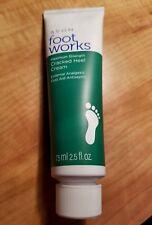 ❤Avon Foot Works  Maximum Strength Cracked Heel Cream, 2.5 oz.