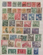 Malta stamp collectionO  on 2 pages