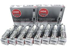 (SET OF 8) NGK 2238/TR5 V-POWER PREMIUM SPARK PLUGS MADE IN JAPAN