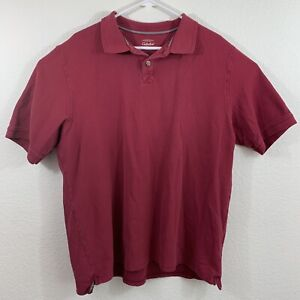 Cabelas Mens Shirt Polo Short Sleeve 100% Cotton Size Extra Large XL Reg Outdoor