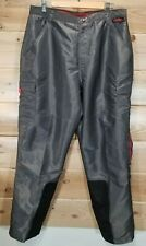 Vintage FUBU EXTREME SPORTS Baggy Cargo Pants Gray Ski Snow SZ XL Windbreaker