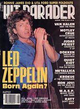 Hit Parader August 1986 Led Zeppelin, Judas Preist 032917nonDBE2