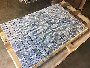 Marble Mosaic, Polished Skyfall Marble Mosaic Tiles, Limestone, Travertine, Tile
