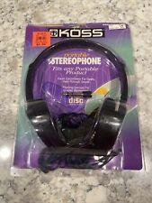 Koss HP/7 Stereo Headphones  New old stock Vintage VTG Open box