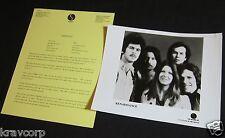 RENAISSANCE 'A SONG FOR ALL SEASONS' 1978 PRESS KIT--PHOTO