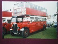 PHOTO  LONDON TRANSPORT BUS STL44 AXM 693