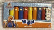 Blippi Xylophone By First Act ~ 8 Keys ~ Easy To Handle Mallets ~ Htf ~ Nib