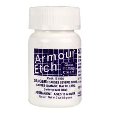 Armour Etch Glass Etching Cream - 3 oz  NEW