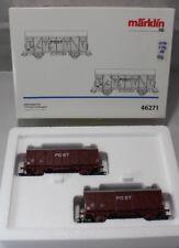 Märklin H0 46271 - Güterwagen-Set PTT Post-Triebwagen - OVP - #332