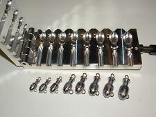 Saltwater Bullet Jig -2 Mojo mold 1/2-2oz CNC Aluminum