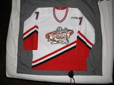 CCM Windsor Spitfires Authentic Game Worn Used Gamer Jersey Steve Downie Flyers