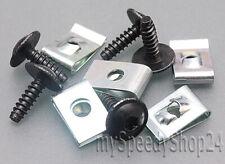 10 Set KFZ Torx Schrauben Blechmutter Unterboden für AUDI VW SEAT N90775001 *NEU