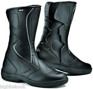 Sidi Livia rain Ladies Waterproof Motorcycle boots  Black motorbike RIDING BOOTS