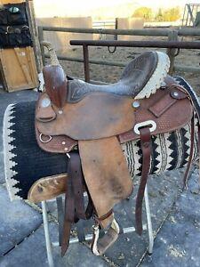 15 inch Billy Cook barrel saddle