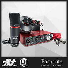 Focusrite Scarlett 2i2 Studio Package w/ Pro Tools & Ableton Live (2nd Gen)