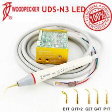 Hot Woodpecker Dental Built In Ultrasonic Scaler Uds N3 Led Hw 5l Handpiece Tips