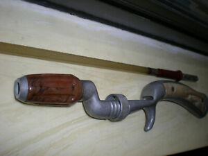 Vintage,Natural, Wild West,J.C,Higgins.Pistol Grip Spin-Cast Rod.4.5' 2pc.2-12lb