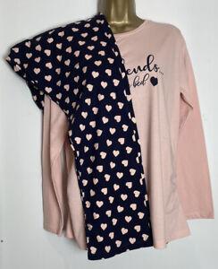 Dorothy Perkins Maternity Cotton Jersey Pyjama Set Size Small