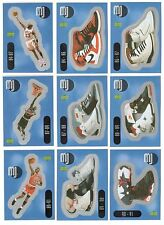 1998 Upper Deck MICHAEL JORDAN Complete Basketball Insert Set 36 cards/stickers!