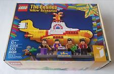 New In Box LEGO Ideas THE BEATLES YELLOW SUBMARINE 21306