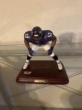 Danbury Mint Ray Lewis Baltimore Ravens Statue Figurine Rare Limited Edition