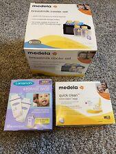 New listing Breastfeeding Supplies Lot, Lansinoh, Medela Breastmilk Cooler, Milk Bags, Steam