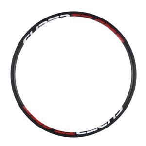 700C Superteam 24mm Depth Carbon Rims 23mm Width Basalt Brake Surface Bike Rims