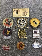 Selection Of Ice Hockey Team Pin Badges