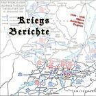 Kriegstagebuch / Kriegsbericht Abwehrkämpfe Vogesen Elsass der Wehrmacht auf CD