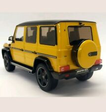 1/18 Mercedes-Benz AMG G63 Yellow by iScale