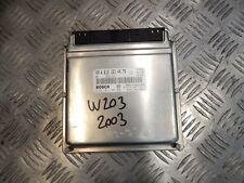 MERCEDES BENZ  C CLASS W203 270 CDI ENGINE CONTROL UNIT A6121534979 42#72