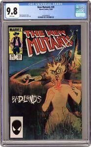 New Mutants #20 CGC 9.8 1984 1618449030