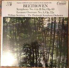 William Steinberg Pittsburgh SO Beethoven Sym No 4 B Flat + Leonore 35MM Lp Mint