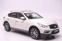 Infiniti QX50 2016 SUV model in scale 1:18 white