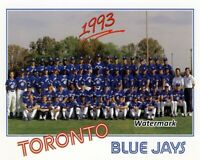 MLB 1993 Toronto Blue Jays team Picture Color 8 X 10 Photo Picture