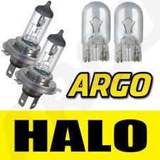 H4 halógena CLARO 55w Luz De Cruce 12v Faro Bombillas HID Luz X2