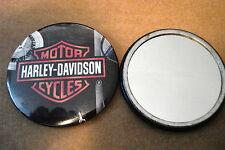 HARLEY DAVIDSON MOTORCYCLES, NEW  POCKET MIRROR 2.25 DIA.