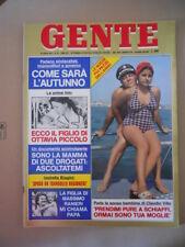 GENTE 30 1975 Ottavia Piccolo Claudio Villa Isabella Biagini Gloria Guida [G771]