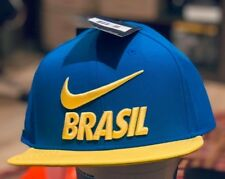 Nike Brasil Football 2018 Pro Adjustable Hat $32 OSFA 897384-453