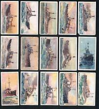 1910 ITC C65 The World's Dreadnoughts Tobacco Cards Complete Set of 25