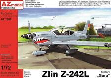 "AZ Models 1/72 Kit 7608 Zlin Z-242L ""Military Guru"""