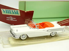Vitesse 1/43 - Buick Special Cabriolet Blanche 1958