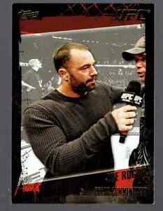 2010 Topps UFC Joe Rogan Gold Parallel #169 MMA Card