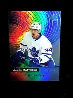 2017-18 Upper Deck Trilogy Auston Matthews Blue Foil /999 Amazing Gorgeous Card